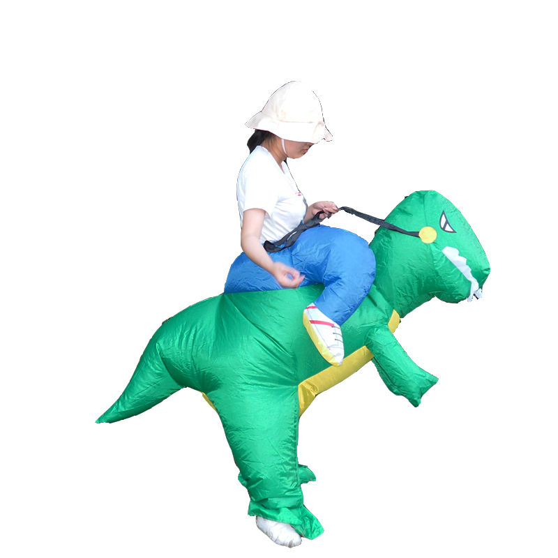 Unisex halloween costume <span class=keywords><strong>professionale</strong></span> dinosauro gonfiabile costume per adulti