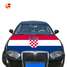 Wholesale custom croatia flag car bonnet hood cover croatia car engine hood cover