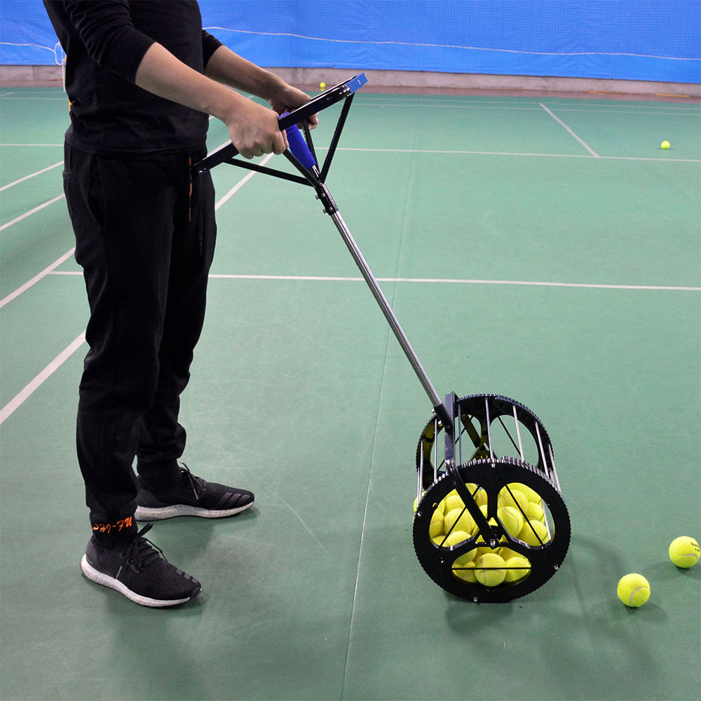 RTS Tennis Ball Training Machine Tennis Ball Picker Training Equipment for Wholesale