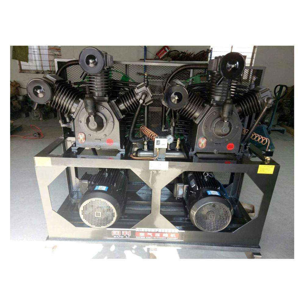Small Silent Piston Air Compressor For Sand Blasting