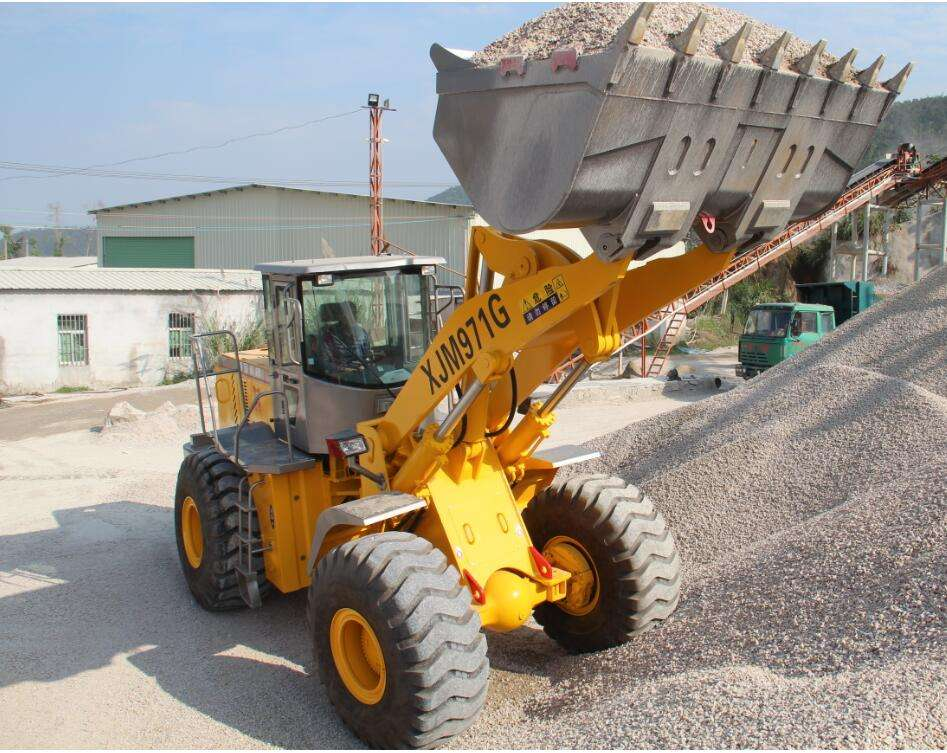 7Tons big heavy front end loader Construction machinery wheel loader for sales