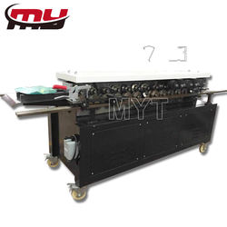 MYT brand metal sheet rectangular hvac air duct tdf flange forming machine