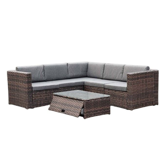 hot sale high quality cheap outdoor rattan furniture sofa set
