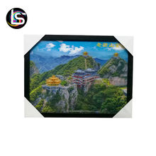Wholesale  hot sale 3D lenticular picture nature view craft  for living room