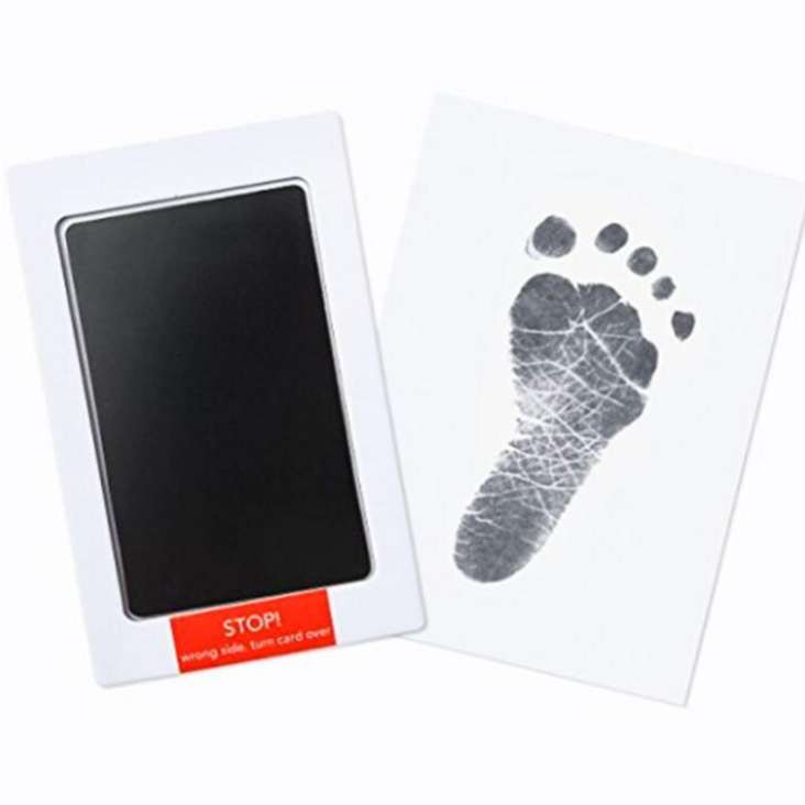 2019 best baby Handprint Non Toxic Newborn Kit Photo Pad ,baby footrprint inkless inkpad