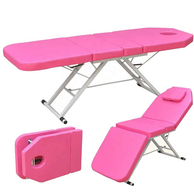 High quality Portable massage bed foldable Outpatient massage table for beauty salon treatment Bed spa beauty tattoo bed