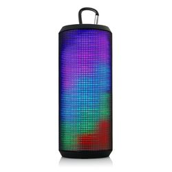 Portable Support NFC/TF Smart Speaker Rechargeable Wireless HIFI Mirage Led Light Bluetooth 5.0 Speaker with Hook Up