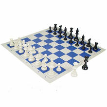 Colorful International Chess Board Set Chess Clock Game