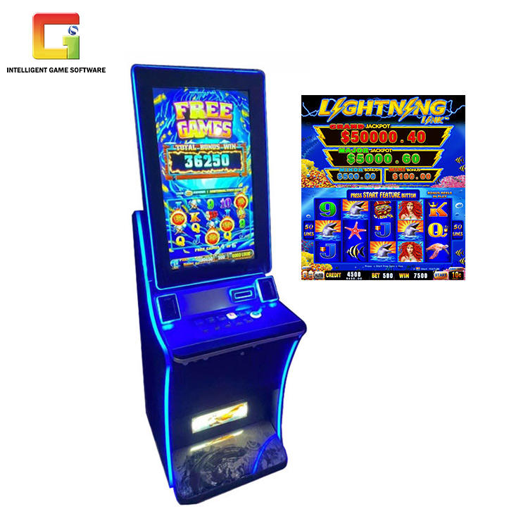 32 Inch Monitor Lighting Link Game Board Jackpot Machine Online Slot