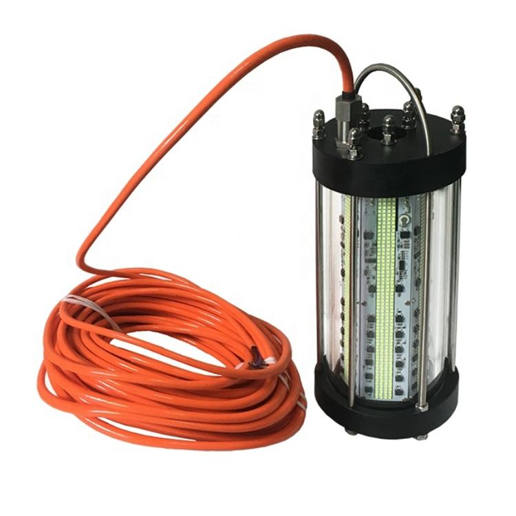 1000W LED Submersible 30ft Cord Waterproof AC Underwater Fishing Light
