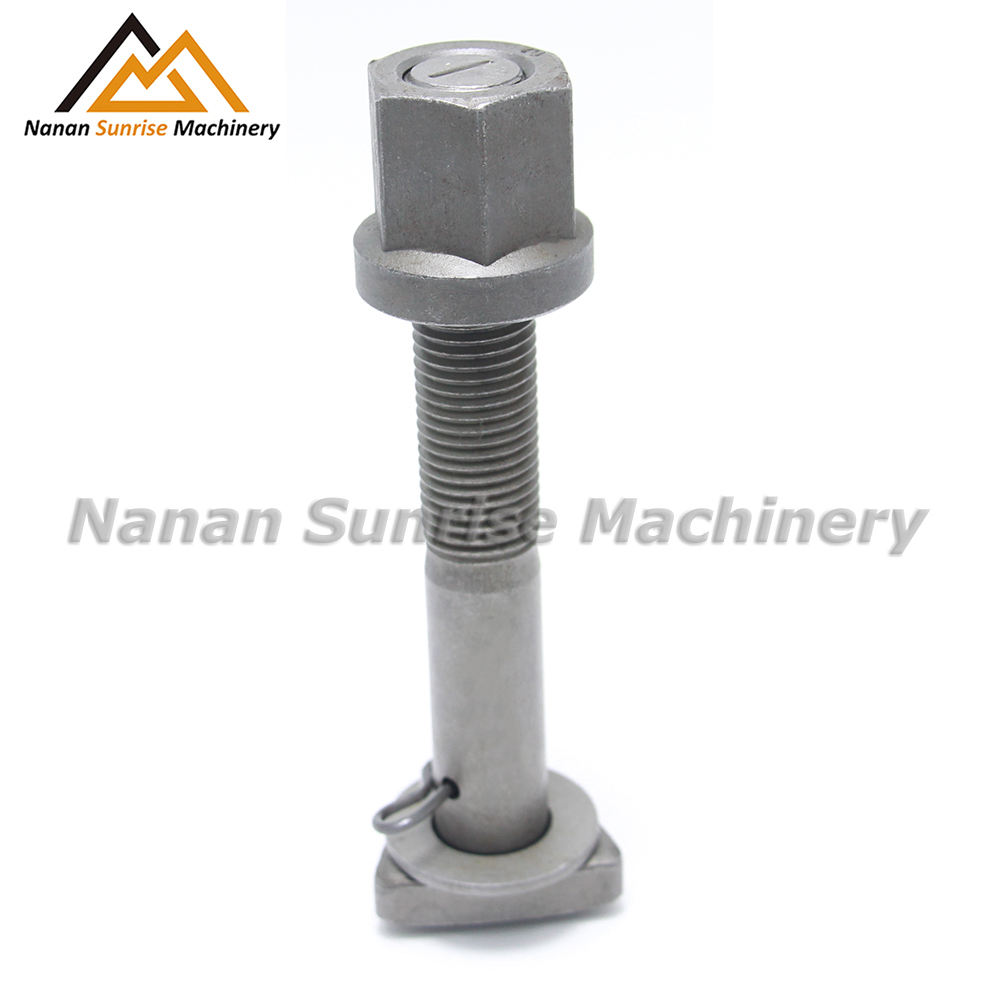 Factory direct selling D bolt and nut wheel stud for Trilex