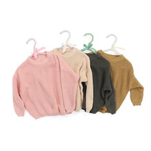 four colors RTS item winter clothes cheap wholesale price boutique baby girls sweater