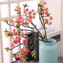 Good quality artificial flower wholesale sakura for home decoration
