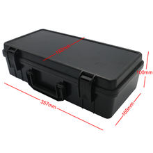 transportation plastic case with pick N pluck foam for hardware tools