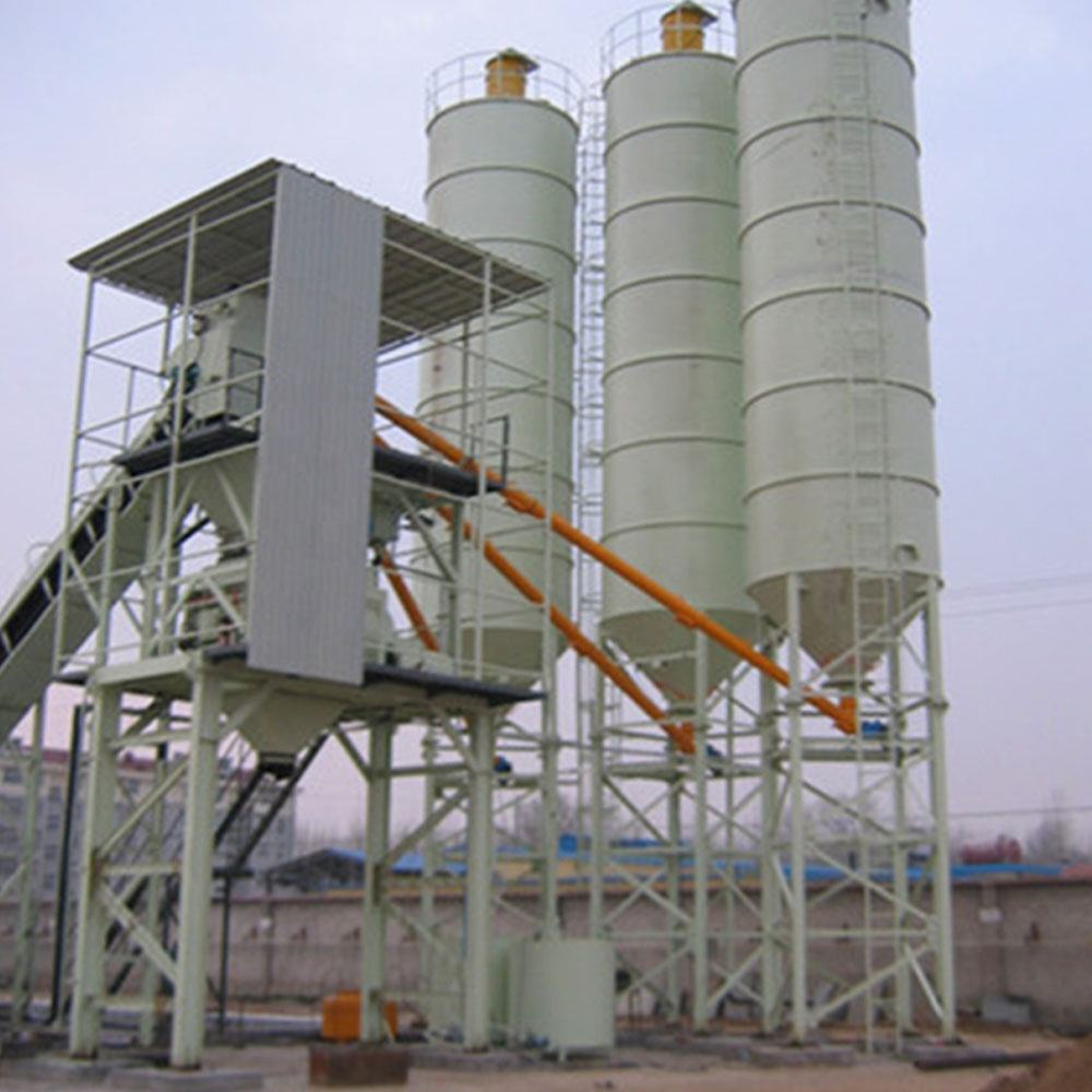 Light weight small concrete batching plant spare parts production line flow chart price for sale