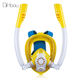 2019 New Item K2 SCUBA Diving Mask Kids Snorkel Mask, 180 Degree View Scuba Full Face Snorkel Mask For Kids