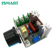 220V 2000W SCR Voltage Regulator Dimming Dimmers Speed Controller Thermostat Electronic Voltage Regulator Module