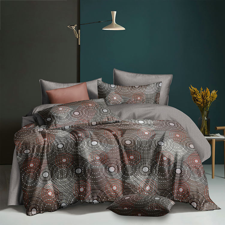 High Quality 3D Bed Bed Sheet Classical Home Textile Custom Duvet Cover Set