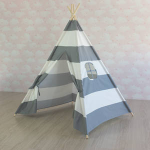 Indoor children toy tents Princess indian teepee Foldable child Wigwam