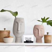 Modern Nordic Home Furnishing Living Room Decoration Pieces Ceramic Vase House Decoration Accessories Home Decor