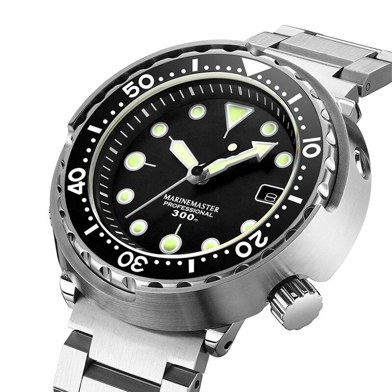 Sports sapphire classic Japanese automatic movement 300 meter waterproof diving watches for men
