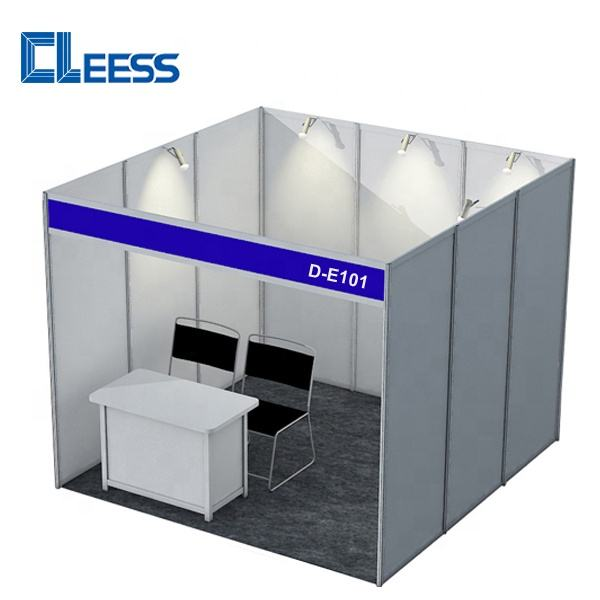 China Standard Exhibition Booth Stands 3x3