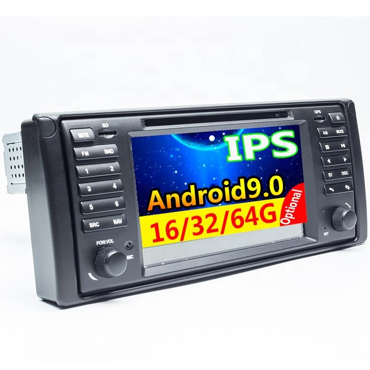 1 din 7'' Android 9,0 Auto + <span class=keywords><strong>dvd</strong></span> + player Für BMW E53 E39 X5 Quad core Auto + radio + auto + Multimedia + Stereo + audio mit DSP WIFI BT SWC