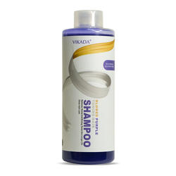 purple shampoo sample keratin treatment powder hair dye shampoo wash in color change blonde to silver shampoo500ml