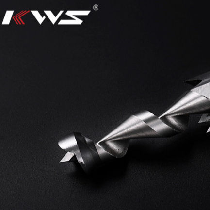 KWS Woodworking Square Drill Bits Set, HSS Wood Mortising Chisel Countersink Bits drill bit for wood