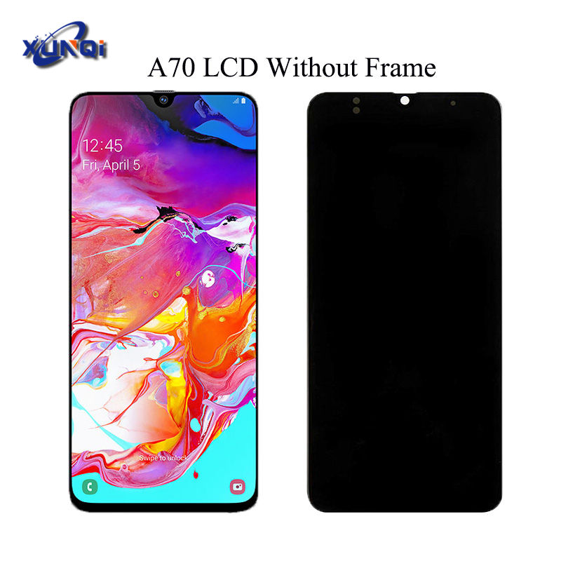 6.7' For Samsung Galaxy A70 LCD A705 A705F SM-A705F Display Touch Screen Digitizer Assembly A70 2019 For SAMSUNG a70 a705 LCD
