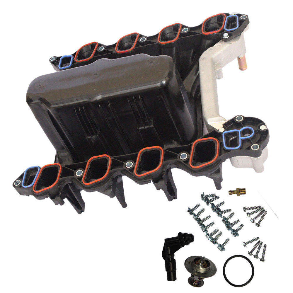 Upper Intake Manifold w//Gaskets for Ford E-Series F-Series Pickup Truck 5.4L V8
