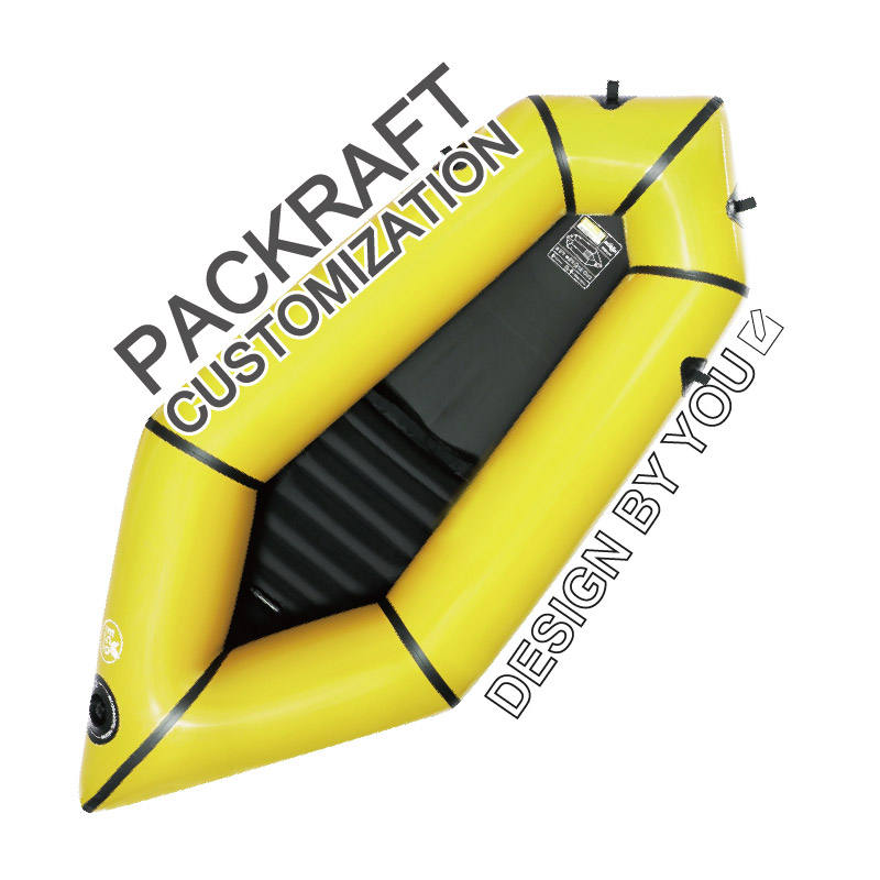 Customized your personal inflatable and foldable kayak 2021 water sport