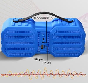 Bluetooth 5.0 Draagbare Draadloze Speaker Outdoor Blue Tooth Fm Telefoon Houder Speaker
