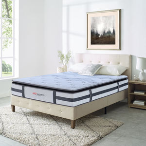 AIDI Compressed Memory Foam 7 Zoned Pocket Spring Mattress Matelas Matrace Umatrasi