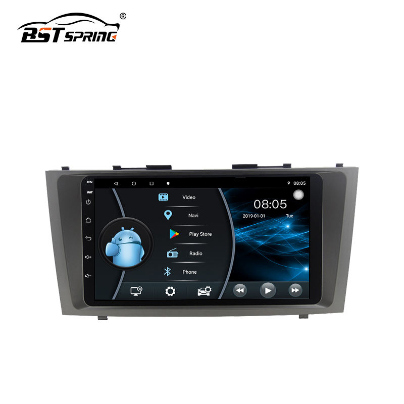 BOSST Android Car Stereo Player <span class=keywords><strong>DVD</strong></span> With Gps Navigation For Toyota Camry 2006-2011 mit wifi BT spiegel link
