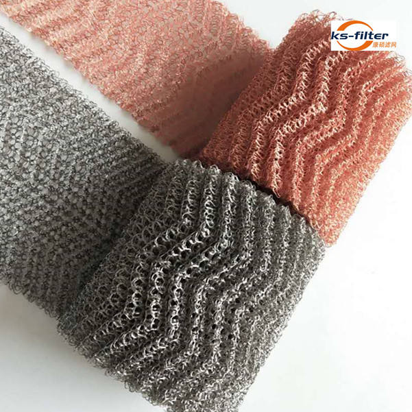 Distillation SS304 Stainless Steel Knitted Wire Mesh