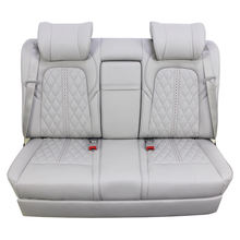 Electric car rear seat ventilation system recliner car modification