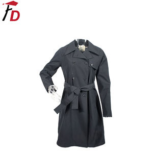 Customize New Arrival Long Coat Women Trench overcoat