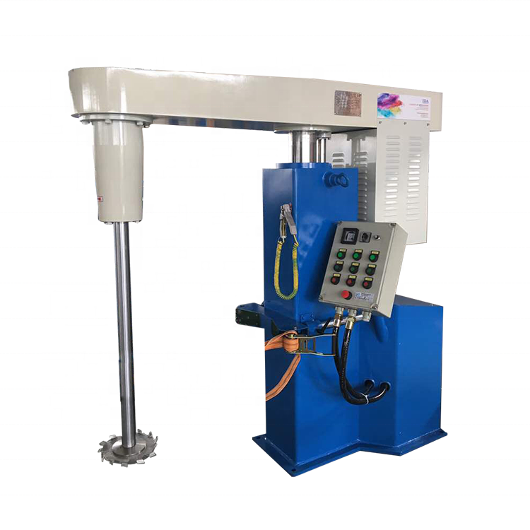 Hydraulic lift Paint Making machine/ variable speed Ink dissolver/ High speed Coating Dispersion mixer