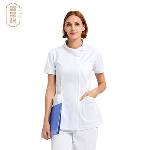 New style short sleeve medical nursing suits hospital uniforms set