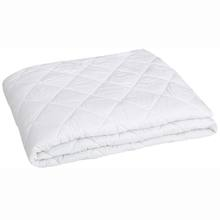 100% cotton fabric quilted fitted mattress pad