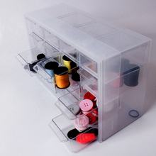 29625 useful home 16 compartments plastic drawer organizer