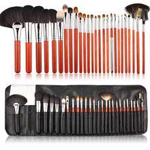 Pvc Makeup Brush Bag Foundation Brush 26 Piece Makeup Brush Set