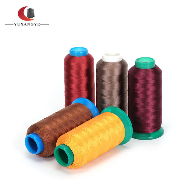 40/2 Polyester Colorful Braided Sewing Thread For Spun Sew Polyester Thread