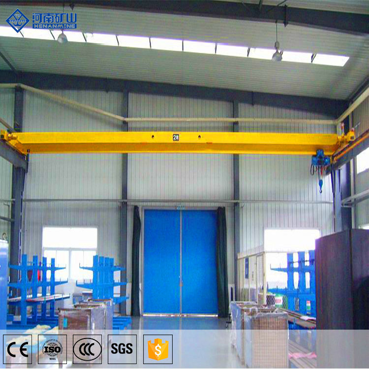 2.5 ton 3t 5 ton 6t 7t 8 ton 10ton 15 ton with electric hoist monorail single beam overhead bridge crane