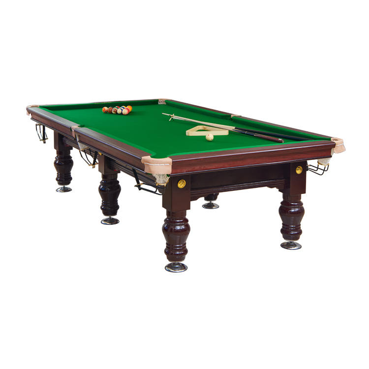 Chinese moisture-proof 12ft snooker table & billiards table