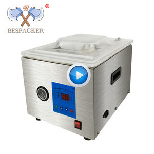 Bespacker DZ-260C automatic table top economy food hamber vacuum sealer machine vacuum sealing packaging packing machine