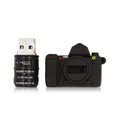 Kartun Kamera Cartoon Camera USB Flash Drive 2.0 3.0 8G 16G 32G 64 GB USB Stick dengan Custom Logo