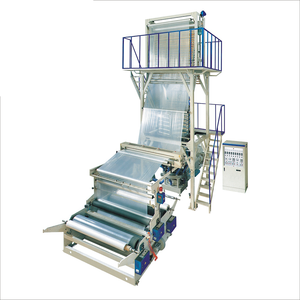 aba plastic nylon pva polythene hdpe high speed film blowing machine