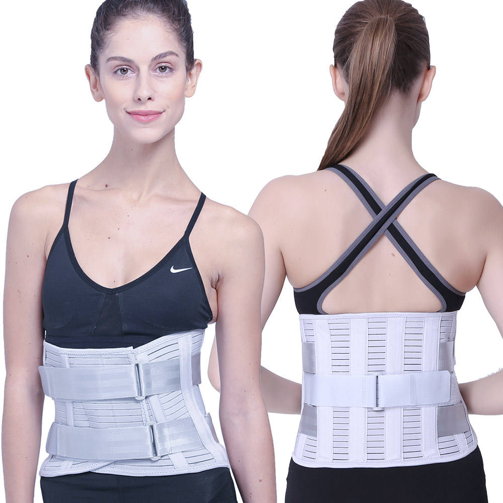 private label lumbar brace low back support waist support belt for waist pain